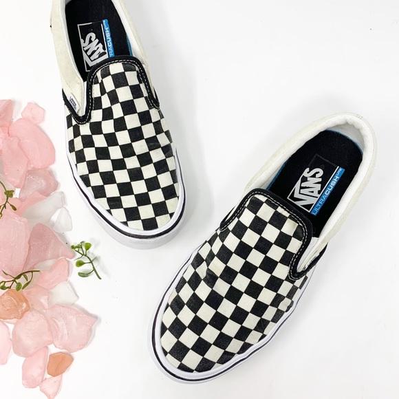 Vans Shoes | Vans Checkerboard Slip On